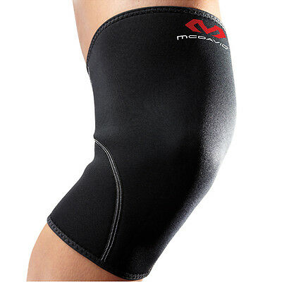 MCDAVID 401R Level 1 Knee Sleeve Support Brace Therapy - Black - All Sizes / NEW
