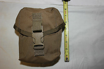 NEW USMC MOLLE II 100 Round Saw Ammo Pouch General Utility ILBE COYOTE NEW
