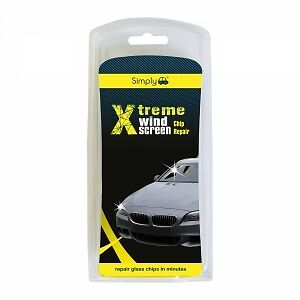 Simply Xtreme Wind Screen Chip Repair Kit Repair Glass Chips In Minutes