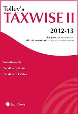 Tolley's Taxwise II 2012-13 (Tax Guide) (Paperback), Jarman, Chri...