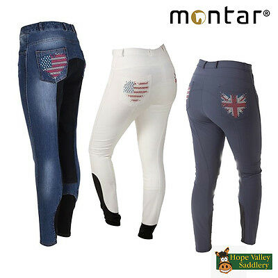 Montar Heartflag Full Seat Ladies Breeches (2090) SALE