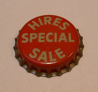 "VINTAGE ""Hires Special Sale""..cork..unused..SODA BOTTLE CAP"