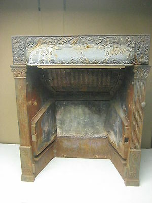 vintage antique cast iron fireplace insert by Buckeye, patented 1892 • CAD $472.50