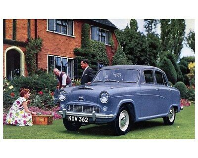 1953 Austin A40 A50 Cambridge Factory Photo ca4328