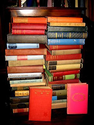 Lot of 10 Old Vintage Books Unsorted Collectible Antique Hard to Find Pre-1959