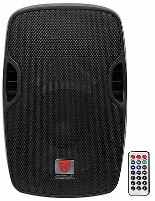 "Rockville BPA12 12"" Professional Powered Active 600w DJ PA Speaker w Bluetooth"