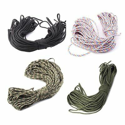 550 Paracord Parachute Cord Lanyard Mil Spec Type III 7 Strand Core100FT G~