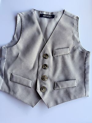NEW Boy Baby Child Kid Cool Handsome Suits Wedding Spring Pageboy Party Vest