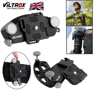 Strong Camera Quick Setup Belt Buckle Mount Clip Adapter For Canon Nikon Sony