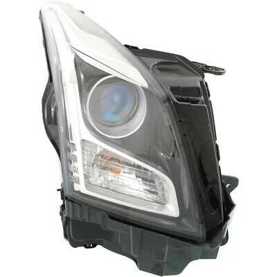 Headlight For 2013-2015 2016 2017 2018 Cadillac ATS Right With Bulb
