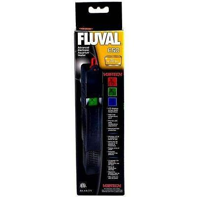 Fluval E50 Advanced Electronic Aquarium Heater 50 Watt Heat Water Fish Tank