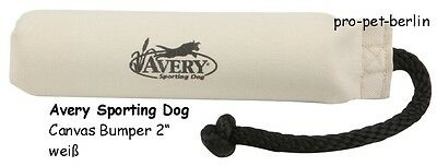 """AVERY 2"""" Dummy Canvas Bumper -weiß- Another Level Of Training!"""