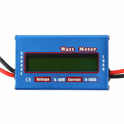 DC RC Helicopter Airplane Battery Power Analyzer Watt Meter Balancer GU