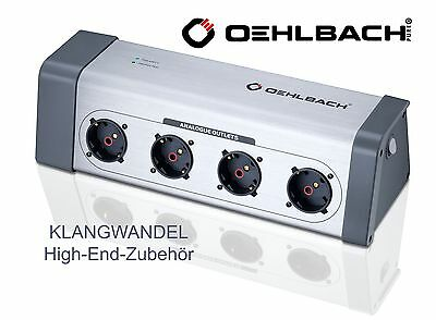 OEHLBACH Powersocket 908 / High-End-Steckdosenleiste / 13040 / Power Socket Neu