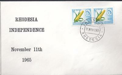 Rhodesia, 1965 Politicial Cover,illustrated  Independence Cover