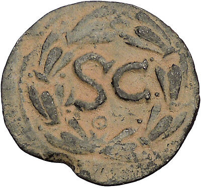 DOMITIAN 81AD Original Authentic Ancient Roman Coin Large SC of Antioch i53876