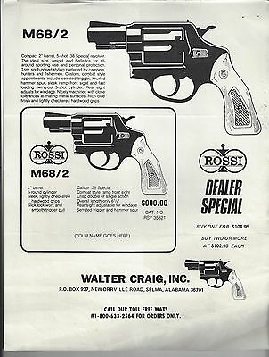 Walter Craig - Product Offering Advertisements