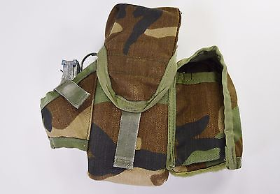5.56 / 223 Triple Magazine Mag W Frag & Multi Purpose Grenade Pouch Left Side
