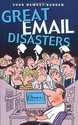 Great Email Disasters, Chas Newkey-Burden, New condition, Book