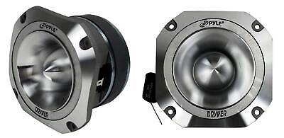 "Pyle PDBT31 1.5"" 1000W 4-Ohm Heavy Duty Titanium Super Car Audio Tweeters, Pair"