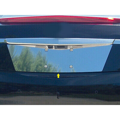 Luxury FX Chrome License Plate Bezel for 2013-2017 Cadillac XTS