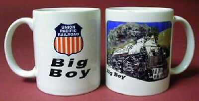 COFFEE MUG UNION PACIFIC BIG BOY RAILROAD/ Cup / trains