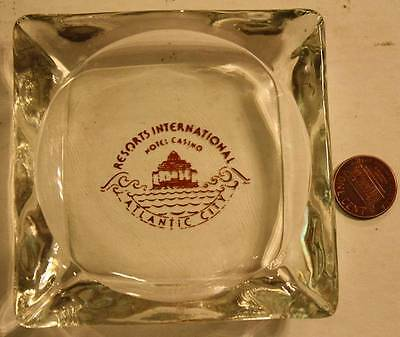 1970s Era Atlantic City,New Jersey Resorts International Hotel & Casino ashtray!