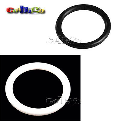 Plastic O Ring Black For Garments Shoes Backpack Outdoor Gears