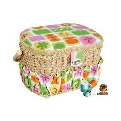 Michley FS-095 Electronics Sewing Basket with 41 Pcs Sewing Kit