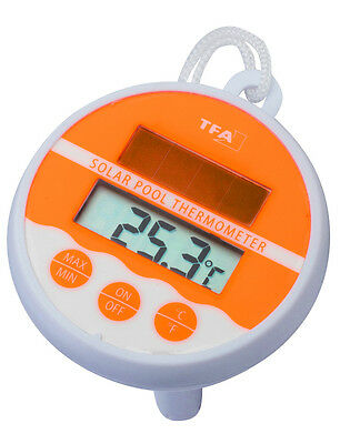 TFA 30.1041 Schwimmbad Thermometer Solar Pool Thermometer Temperaturkontrolle