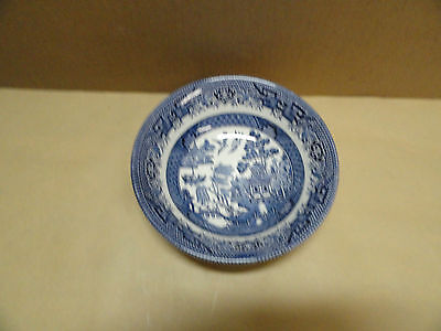 """Churchill England Blue Willow 6"""" Soup / Cereal Bowl"""