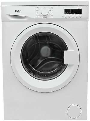 Bush WMNS714W Free Standing 7KG 1400 Spin Washing Machine - White -From Argos