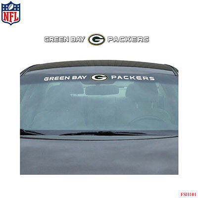 8b1d3d27194 New NFL Green Bay Packers Car Truck SUV Windshield Window Vinyl Decal  Sticker