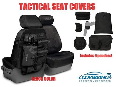 COVERKING TACTICAL MOLLE BLACK CUSTOM FIT SEAT COVERS for SUBARU OUTBACK