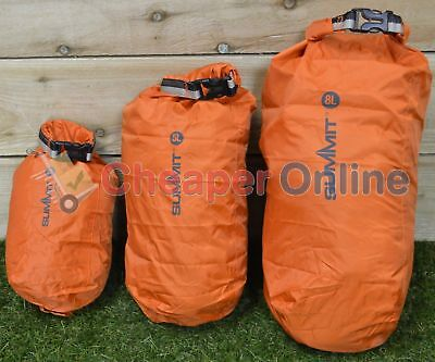 Set of 3 Dry Sacks Small Compact for Storage 2, 5 & 8 Litres