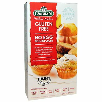 Orgran No Egg - Natural Egg Replacer 200g Vegan, Gluten, Wheat & Dairy Free