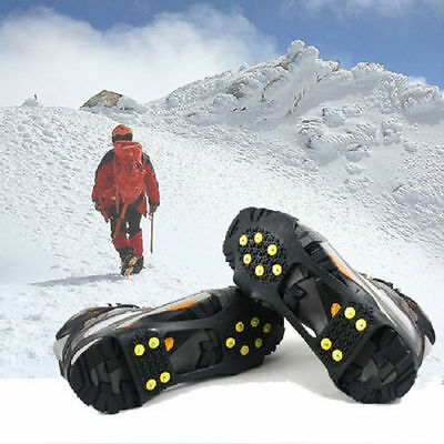 Non-slip snow cleats Anti-Slip overshoe Studded Ice Traction shoe covers Spike G