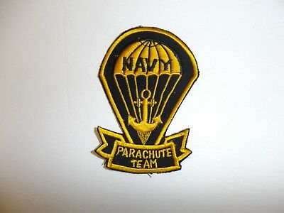 b1512 US Navy 1950's Naval Parachute demonstration team  patch