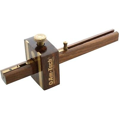 "6"" High Quality Mortice Marking Gauge Carpenters Woodworking Tool Brass Door"