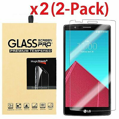 2-Pack Ultra Thin HD Premium Tempered Glass Screen Protector Film For LG G4
