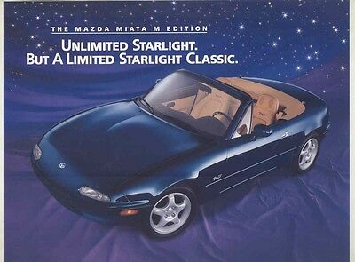 1996 Mazda Miata M Edition Brochure my5833