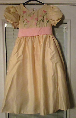 MY TWINN DRESS Blooming Hearts Dress For Girl Size Large 12