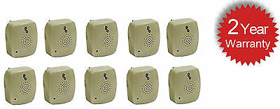 10 X Pestbye Plug In Mouse Repeller Pest Insect Control Ultra Sonic Repellent