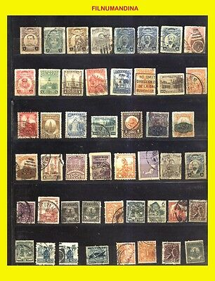 Mexico Collection More 500 Diferents  Lot Of Pritings Old+ Modern Used/mnh