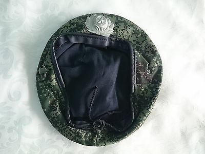 Russian beret. Russia. Airborne Spetsnaz. Size 58 and 59.  Badge. Camo