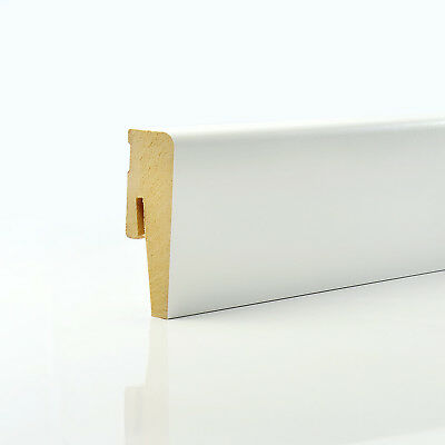2.5m 15x60mm SIMPLE MDF SKIRTING BOARD accessories wall floor trunking weimarer