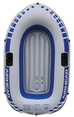 Airhead Lightweight Single Person Lake River Pond PVC Inflatable Boat   AHIB-1