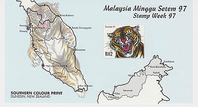 (MMS049) MALAYSIA 1997 Stamp Week '97 Special Issue Mini Sheet MNH