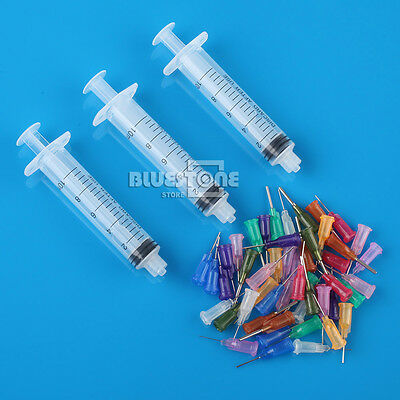 SMT SMD PCB Solder Paste Adhesive Glue Liquid Dispenser+Dispensing Needle(50pcs)