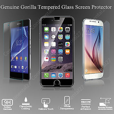 100% Genuine Gorilla Tempered Glass Film Screen Protector For New Mobile Phones
